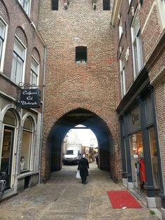 Culemborg center 'Onder de Poort' in The Netherlands...