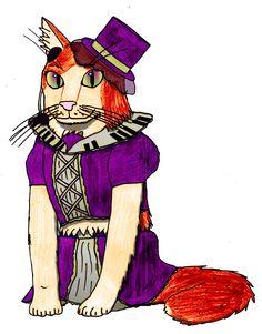 Since it's Ritsu's birthday today, I drew him as a cat.