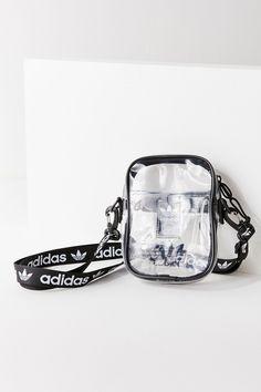 Adidas Originals Clear Shoulder Bag Crossbody Purse Transparent Festival Bag - New Ideas Cute Handbags, Black Handbags, Purses And Handbags, Beautiful Handbags, Cheap Handbags, Cheap Purses, Cute Purses, Pink Purses, Trendy Purses