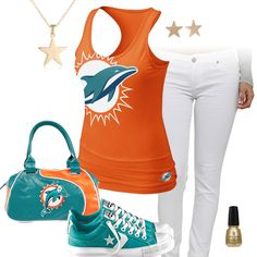 Miami Dolphins All Star Outfit