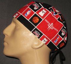 cd6b5d23acc87 HOUSTON ROCKETS NBA SCRUB HAT   FREE CUSTOM SIZING WHEN REQUESTED!   HOVIHATSCUSTOMSIZEDHOUSTONROCKETSSCRUBHAT  HoustonRockets