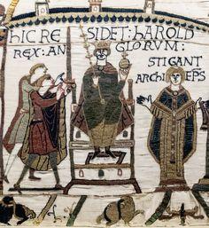 Harold II Godwinson, last Anglo-Saxon King of England (1022-1066) 30th great-grandfather.