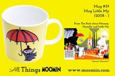 Moomin mug Little My by Arabia - Moomin Moomin Mugs, Tove Jansson, Little My, Tableware, Landscape Architecture, Trays, Den, Songs, History