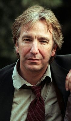 A little tired and unshaved, but very cool Alan Rickman Always, Alan Rickman Movies, Alan Rickman Severus Snape, Old Movie Stars, Hugh Jackman, Celebs, Celebrities, Keanu Reeves, Best Actor