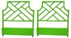 Ficks Reeds Twin Headboards, Pair | Bright