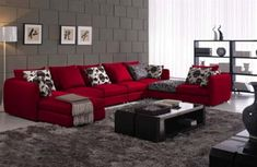 Red Alert How To Decorate With White And Red Industrial Style