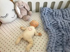 In navy please! Cot Blankets, Winter Blankets, Small Blankets, Knitted Baby Blankets, Newborn Gifts, Baby Gifts, Nursing Chair, Chunky Babies, Gender Neutral Colors