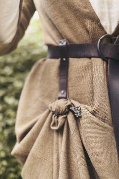 Sneak Peak på nya medeltidsklänningen
