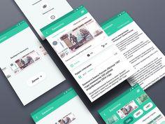 Banknotes App : all screens