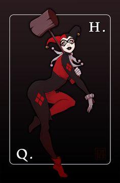 Harley Quinn- Finally found the artist- http://paolapieretti.deviantart.com/
