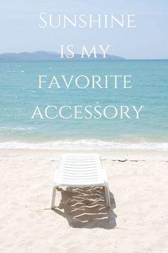 Sunshine is my favorite accessory... #sundayfunday #sunshine #happiness