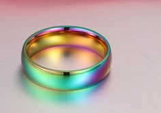 Amazing  Rainbow Ring  / Offer Value $63.90 Yours $1 Only!
