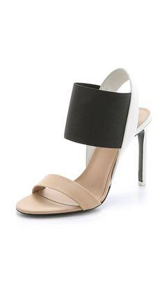 Vince Gaudin Colorblock Sandals