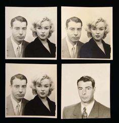 Joe DiMaggio & Marilyn Monroe, 1954