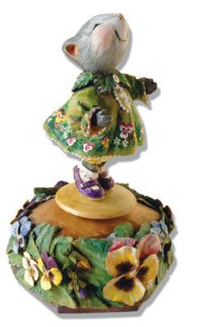 PANSY GIRL MUSIC BOX