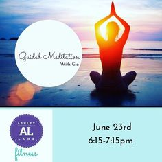 End your week with an OM! Join Cherie for guided meditation tomorrow evening 6:15pm-7:15pm #meditation #meditating