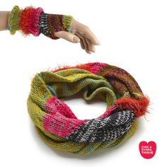 Le Laine Snood - Mittens Multi - Chic Sympathique