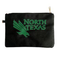 North Texas Mean Green Logo Canvas Pouch Bag ** To view further for this item, visit the image link.