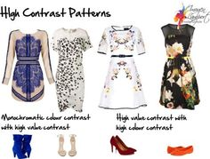 high contrast patterns