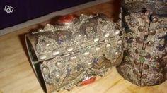 Chevillières kabyles anciennes ikhelkhalen