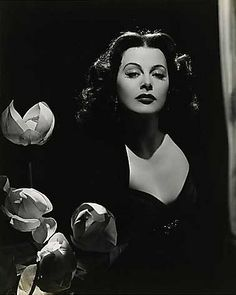 Heddy Lamar. One of my idols. Not only beautiful but an engineer to boot.