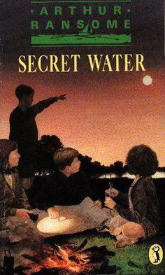 Arthur Ransome - Secret Water Arthur Ransome, Swallows And Amazons, Worlds Largest, Community, Reading, Water, Books, Movie Posters, Gripe Water