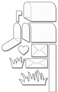 Al lange tijd stond de mailbox van MFT op mijn verlanglijstje. Deze nu inmiddels aangeschaft. Met de muizen had ik ook al een idee....namel...