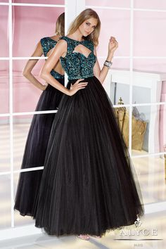 2014 New A-Line scoop cap short sleeve backless with sequins backless long organza Prom Dress custom-made  FSL-076 $188.99