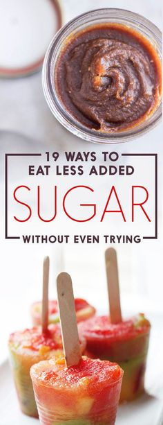 Your no-fail with no-try way to shed your diet of sugar!
