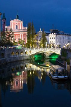 Ljubljana, Slovenia On my definite wish list - birth place of all 4 grandparents