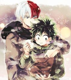 Todoroki Shouto x Izuku Midoriya Boku No Hero Academia, My Hero Academia Memes, Hero Academia Characters, My Hero Academia Manga, Cute Gay, Anime Couples, Cute Couples, Fanfiction, Lgbt Anime
