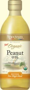 Peanut Oil:  Refined for cooking, unrefined for non-cooking and taste.