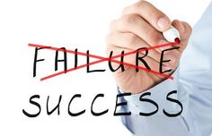"""""""You will never succeed until you fail"""". Some of the most successful people have failed first, and here is why its NOT bad to fail first."""