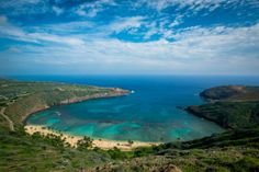 Trespassing may or may not have been involved in getting this shot.. :) Hanauma Bay, Oahu.