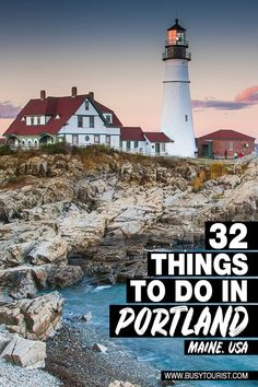 Wanting to visit Portland, Maine but not sure what to do there? This handy travel guide will show you the top attractions, best activities, places to visit & fun things to do in Portland, ME. Start planning your itinerary & bucket list now! #portland #portlandme #portlandmaine #thingstodoinportland #maine #mainevacation #mainetravel #usatravel #usaroadtrip #usatrip #travelusa #ustravel #ustraveldestinations #travelamerica #vacationusa Visit Portland, Portland Maine, Us Travel Destinations, Us Road Trip, Us National Parks, Travel Usa, Oregon Travel, United States Travel, Travel Inspiration