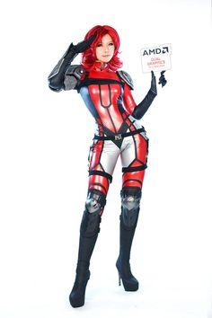 Model: TASHA Spcats (타샤 - 오고은) Oh Go-Eun |  Cosplay: ATI/AMD Ruby (AMD) |  Character: Ruby |  #Tasha #타샤 #오고은 #Spcats #Cosplay #AMD #ATI #Radeon #ATIRadeon | Pin by @settimamas