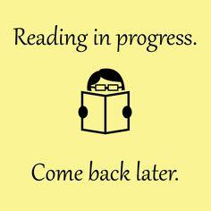 A polite book sign.