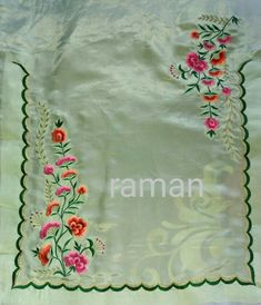 Embroidery Suits Punjabi, Hand Embroidery Dress, Cutwork Embroidery, Embroidery On Clothes, Embroidered Clothes, Embroidery Fashion, Simple Embroidery Designs, Embroidery Suits Design, Machine Embroidery Designs