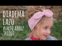 Tutorial Girl Headband Knitting Easy and Quick Knitting Blogs, Knitting For Kids, Easy Knitting, Knitting Patterns, Little Girl Headbands, Kids Headbands, Crochet Headbands, Headband Bebe, Headband Tutorial