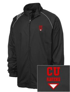 Carleton University Ravens Embroidered adidas Men's 3 Stripe Full Zip Jacket