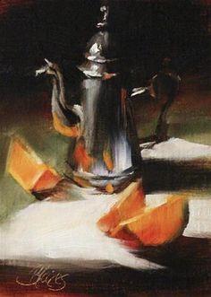 """Single Serve"" - Original Fine Art for Sale - © Pamela Blaies"