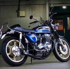 Pin on motorcycle mania! Tracker Motorcycle, Motorcycle Types, Motorcycle Art, Motorcycle Design, Honda Bikes, Honda Cb750, Honda Motorcycles, Cars And Motorcycles, Electric Mountain Bike