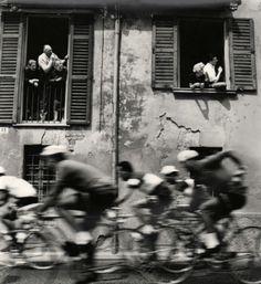 """attropin:  """" Passa Il Giro, 1956  by Stanislao Farri  """""""