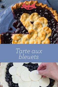 Did you know that Canada is the world's second-largest producer and exporter of blueberries? Take advantage of the natural abundance of these spheres of deliciousness with what may be the best blueb Best Blueberry Pie Recipe, Blueberry Desserts, Tart Recipes, Dessert Recipes, Cooking Recipes, Dinner Recipes, Meat Fruit, Cheesecake Tarts, Perfect Pie Crust