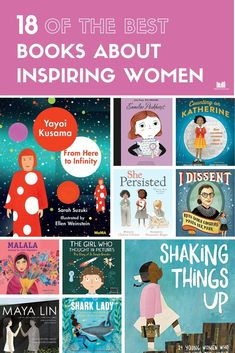 These books are the tip of the iceberg when it comes to inspiring women. They'll empower girls and boys to reach for their goals no matter the obstacles. Women In History, Ancient History, Mentor Texts, Book Show, Chapter Books, Teaching Reading, Read Aloud, Book Recommendations, Great Books