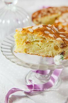 Torta di ricotta, mele e uvetta (senza olio e burro) - Trattoria da Martina - cucina tradizionale, regionale ed etnica