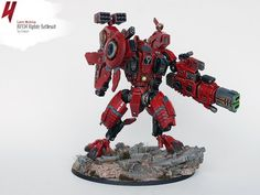 Hey folks! It's Uruk  – long time no see. Today I present you something in the spirit of GW's latest releases – a quite big Tau Empire su...