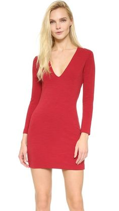 DSQUARED2 Long Sleeve Jersey Dress