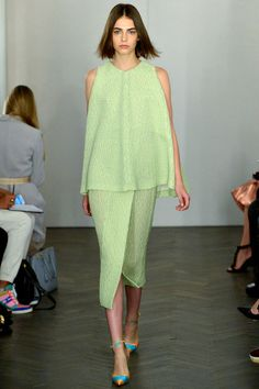 Runway: Emilia Wickstead Spring 2014 RTW Collection