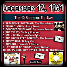 60s Music, Music Hits, Music Songs, Classroom Playlist, Top Ten Songs, Music Themed Parties, Fun Questions To Ask, Happy 60th Birthday, Rock Songs